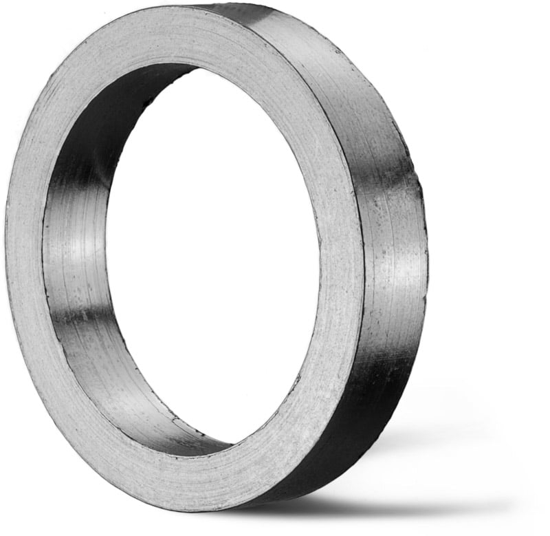 Deutsch: Abbildung zeigt einen Reingraphitring. English: Picture displays pure graphite ring.