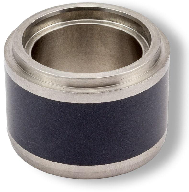 Deutsch: Abbildung zeigt eine beschichtete Wellenschonhülse English: Picture displays a coated replaceable shaft sleeve