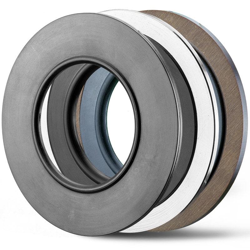 Deutsch: Abbildung zeigt verschiedene Gummi-Stahl-Dichtung English: picture displays several rubber-metal-seals