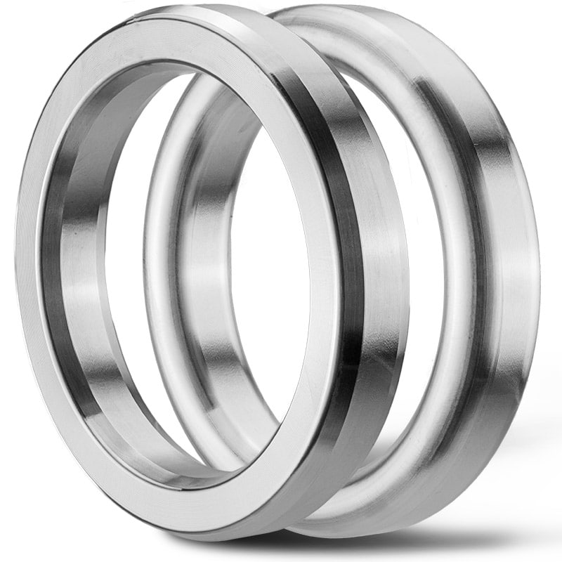 Deutsch: Abbildung zeigt oktagonale und ovale Ring-Joint-Dichtung English: Picture displays oval and octagonal ring joint seal